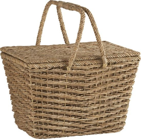 Ventana Natural Picnic Basket #prepare for picnic