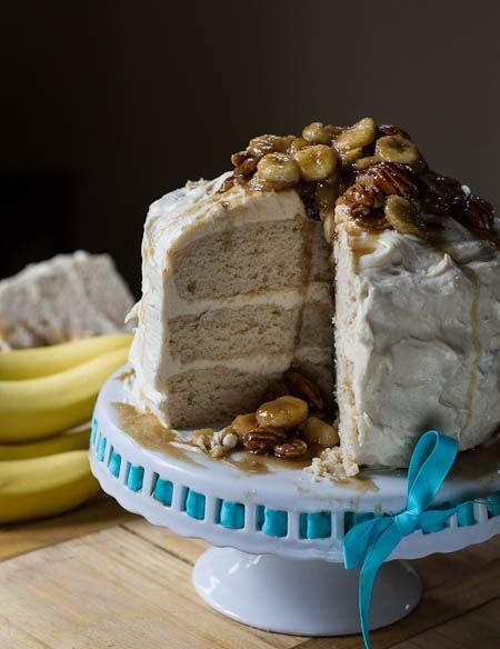 Banana Fosters Cake Recipe