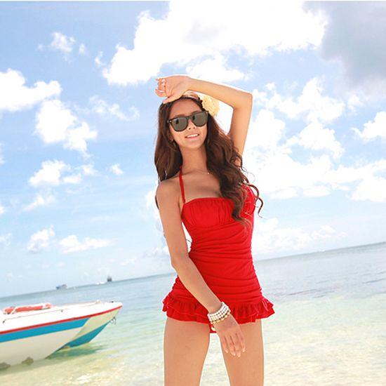 $17.15 2013 new Korean original bikini/ one piece swimsuit - http://zzkko.com/book/shopping?note=17462