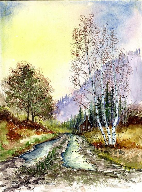 Back Roads Painting  - Steven W Schultz