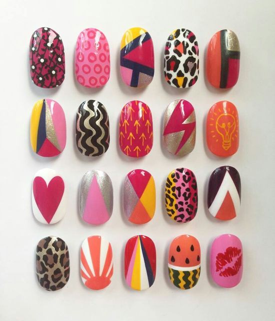 so many options for nail art!