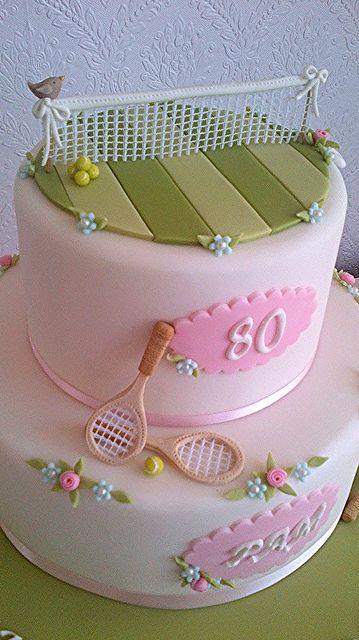 Tennis Cake, via Flickr.