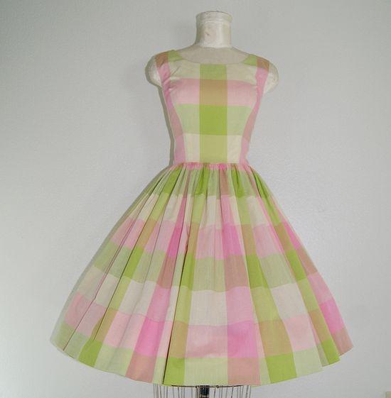 1950s vintage sun Dress