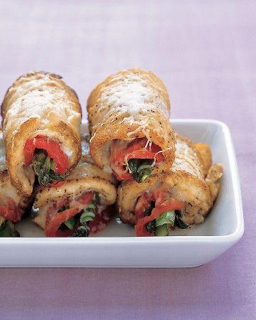 Chicken & Asparagus Rolls
