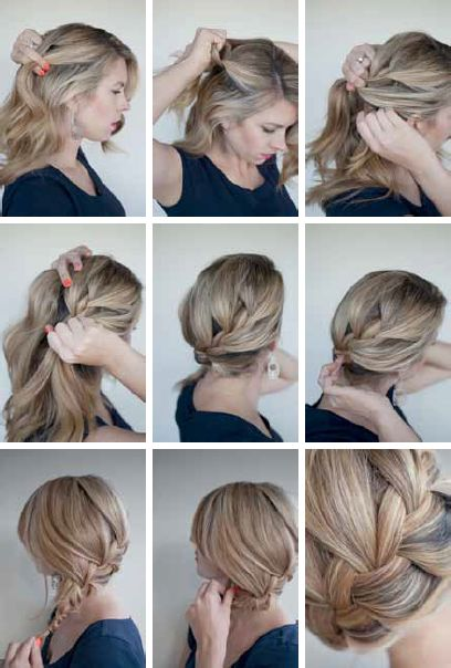 The Loose French Braid
