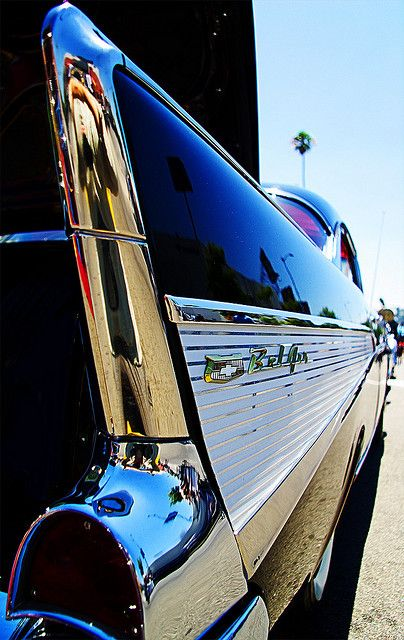 '57 Chevy Bel Air by TheKenChan, via Flickr