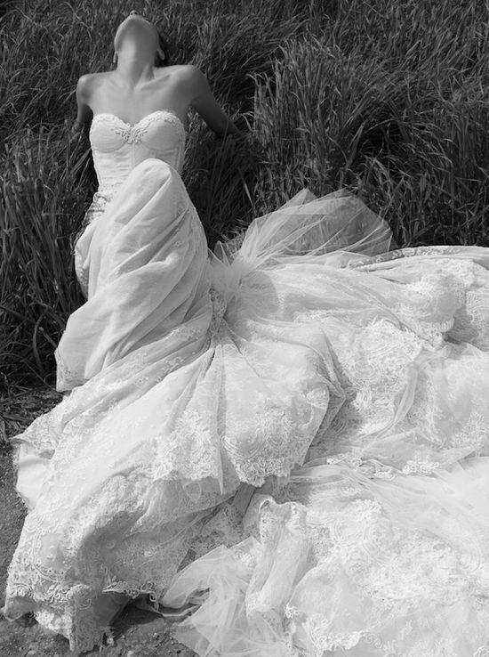 Inbal Dror 2013 Wedding Dress Collection via Bridal Musings