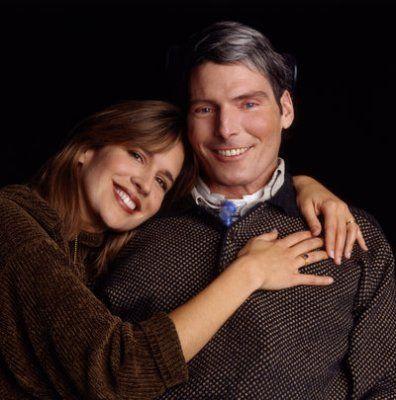 Dana Reeve--Dead @ 44   Christopher Reeve--Dead @ 52
