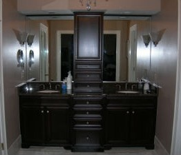 Use a Bathroom Vanity Tower for That Extra Storage Space!