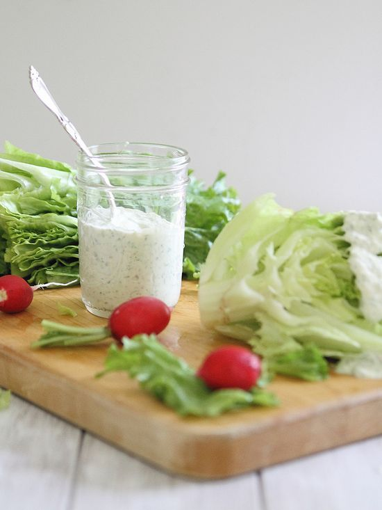 Creamy 3 herb dressing - Running to the Kitchen