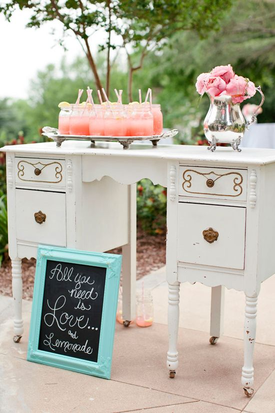 All you need is love and lemonade  Photography by bonnieberryphotog..., Event Planning and Floral Design by peonyeventssa.com, Event Design by sistersvintagepar...