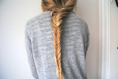 fish tail braids?