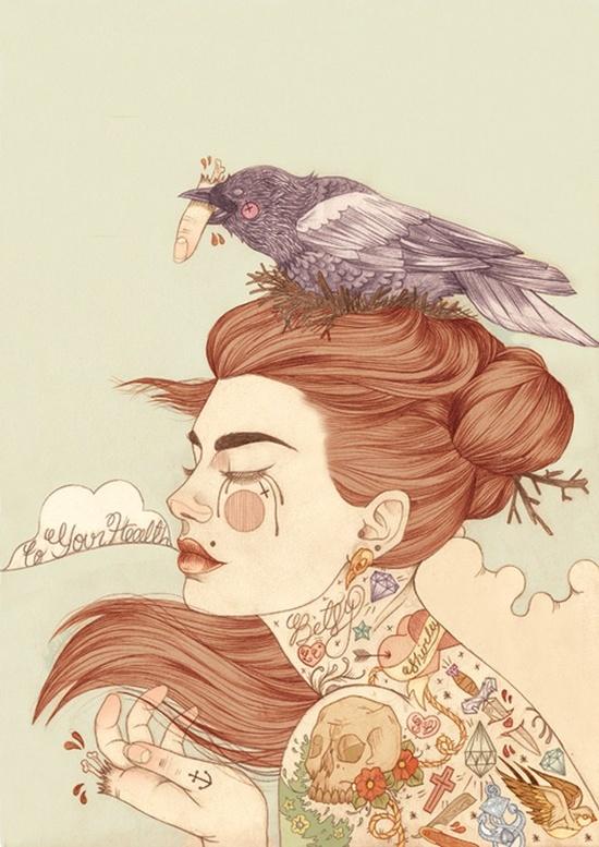 Tattooed Illustrations