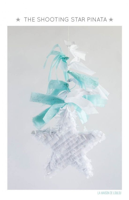 Do It Yourself by La maison de Loulou-shooting star Pinata