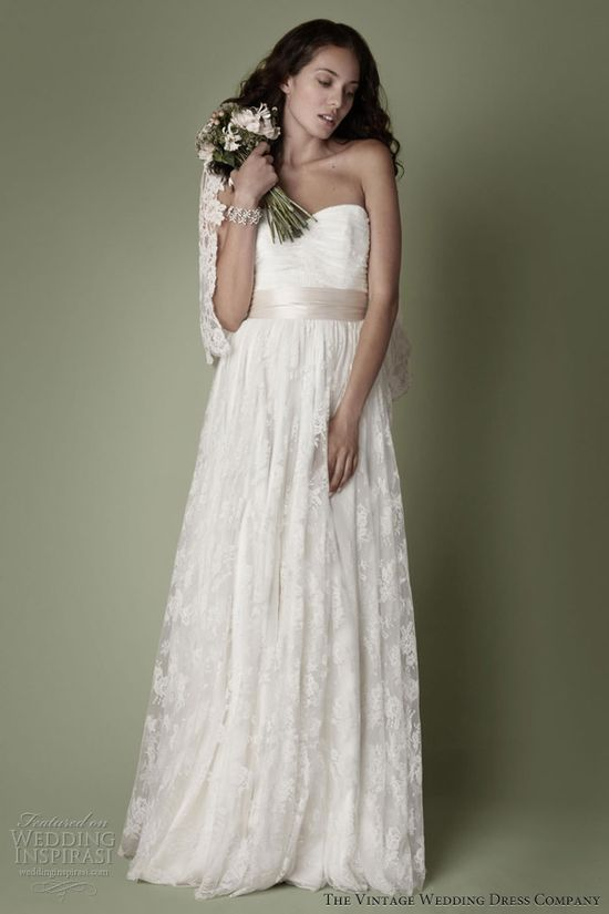 The Vintage Wedding Dress Company — 2013 Decades Bridal Collection