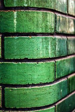Green brick around the corner