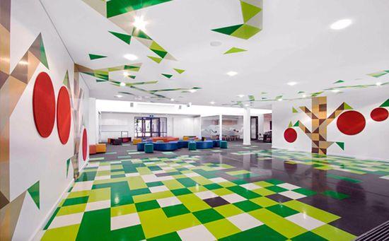 neutral color floor tile texture design