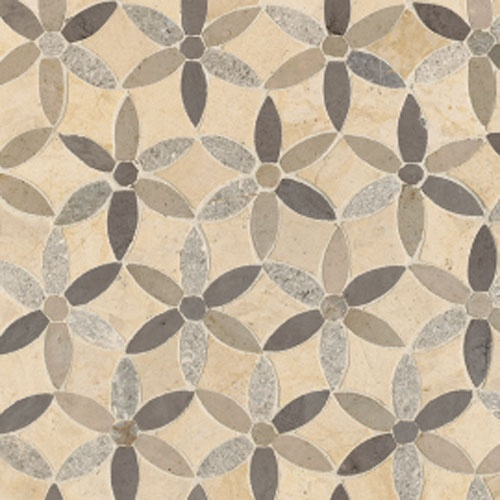 Tile floors like this. Sonja La Fleur Sand