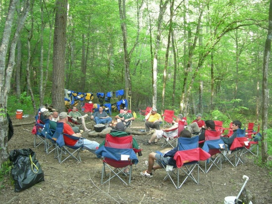 Overnighter Camp, Raft Sec III first day, camp and Raft Sec IV day 2! Best Value on the Chattooga!