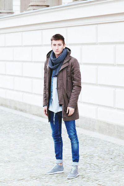 Awesome winter mens fashion.