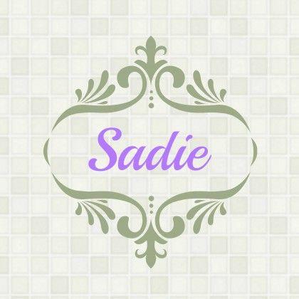 Baby Girl Name: Sadie!