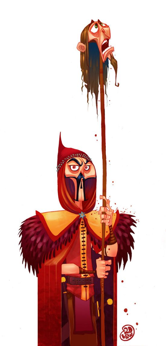 Character Design by Brett Bean, via Behance