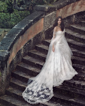 """The name says it all: Monique Lhuillier's """"Perfection"""" gown"""