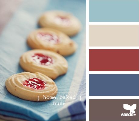 Home baked hues from Design Seeds.