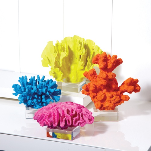 InStyle-Decor.com Beverly Hills Vibrant Colored Porcelain Corals Your Welcome to Check Out Over 3,000 Luxury Hollywood Interior Design Inspirations To Pin, Share & Inspire Your iFriends Use Our Red Pinterest Speed Pin Button Top Of Each Page Enjoy & Happy Pinning