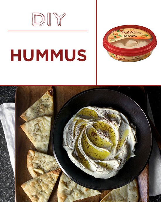 Once you make hummus at home, you'll never buy it again.
