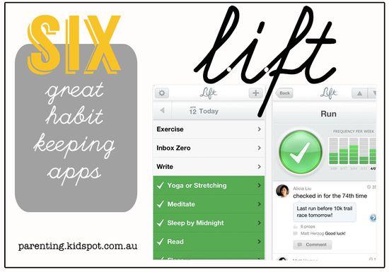Habit keeping apps!