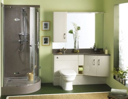 Charming small bathroom design
