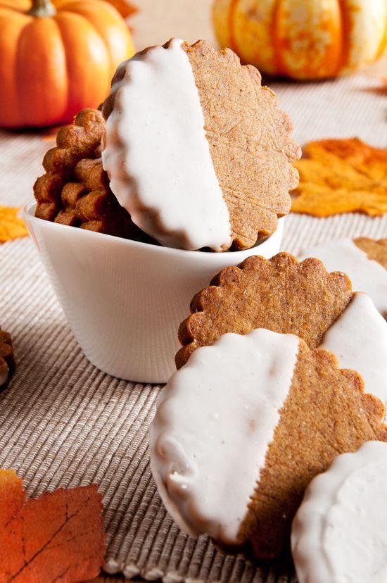 Brown Butter Pumpkin Shortbread