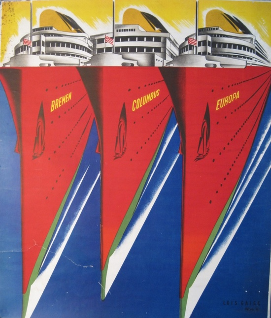 vintage travel poster~