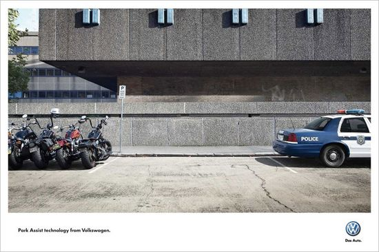 —Agency: DDB, Sydney, Australia  Park-assist technology, which helps you parallel park, is never more useful than when you've got extremely delicate objects on both sides of you.