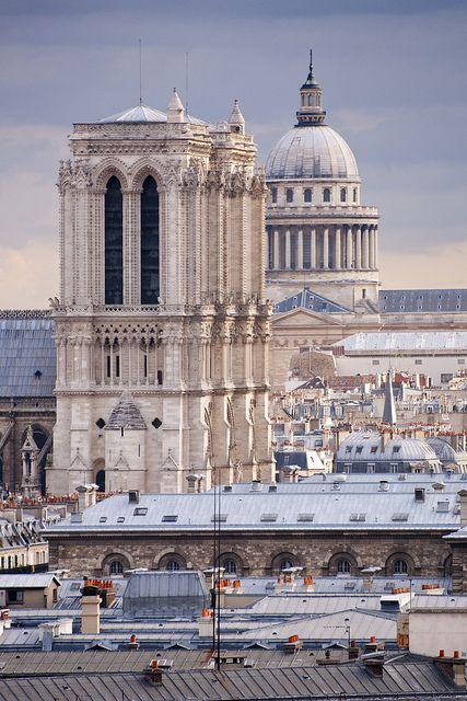 Paris, Ile-de-France, France #Travel #Holidays #Leisure