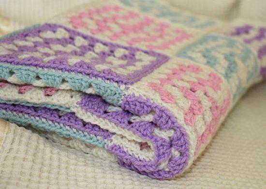 Crochet Baby Blanket #crochet