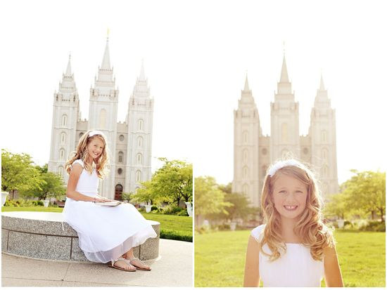 Love these pics at the temple...especially the one from behind with her looking up at the temple :o)