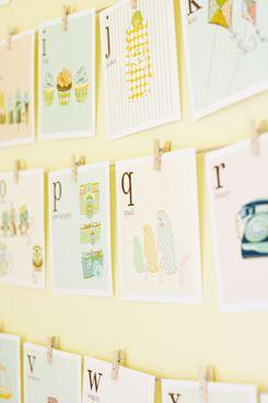 Alphabet cards - Free printable