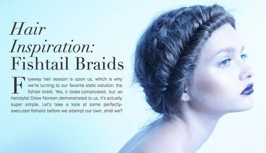 fishtail braids #hair