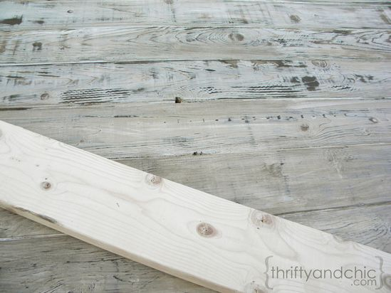 Thrifty and Chic - DIY Projects and Home Decor {how to weather new wood}  great tute, several options. See the difference in the before board and the after?