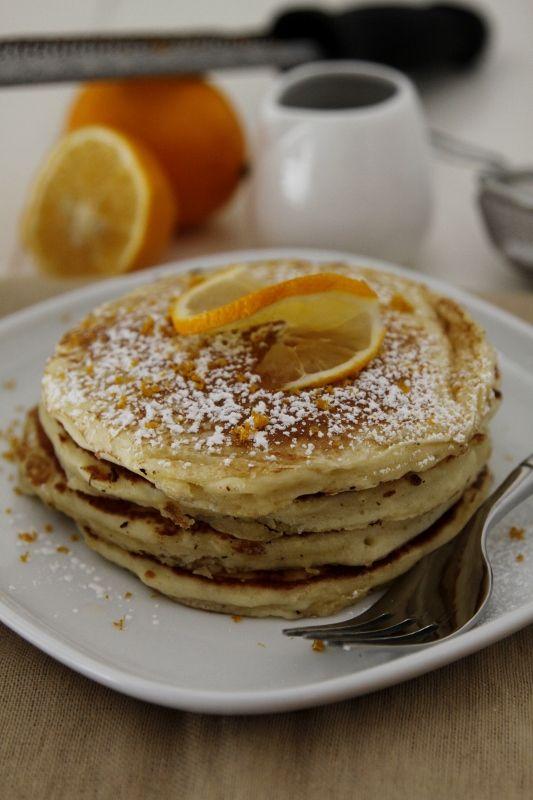 Meyer Lemon Pancakes!