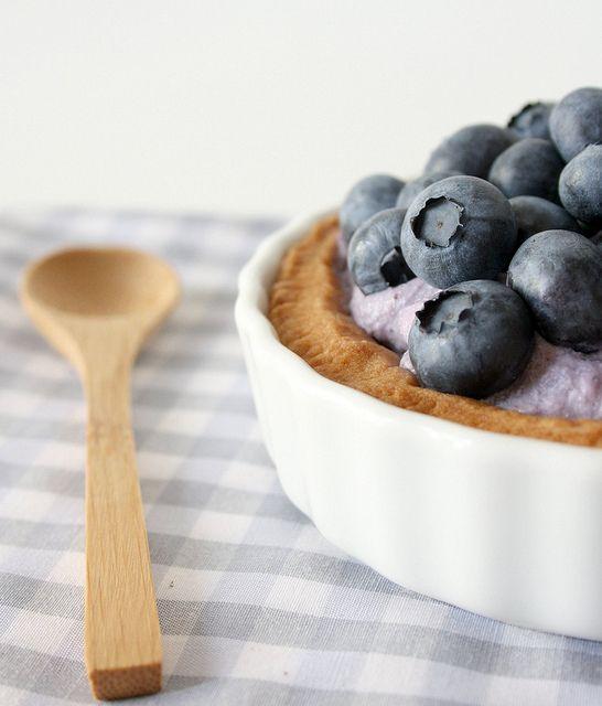 ricOtta and blueberry tartelettes