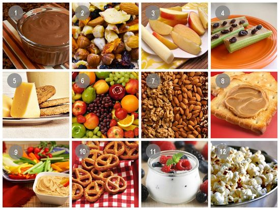 Safe snacks for your health