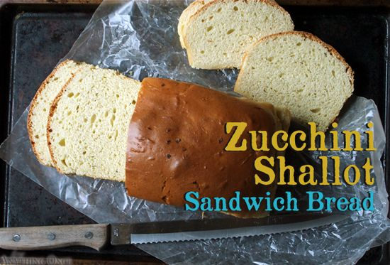 Savory Zucchini Sandwich Bread