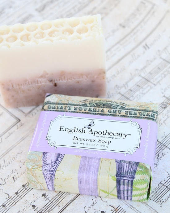 SALE - Lavender Chamomile Soap - All Natural with organic oils and beeswax by Erin. $8.00, via Etsy.