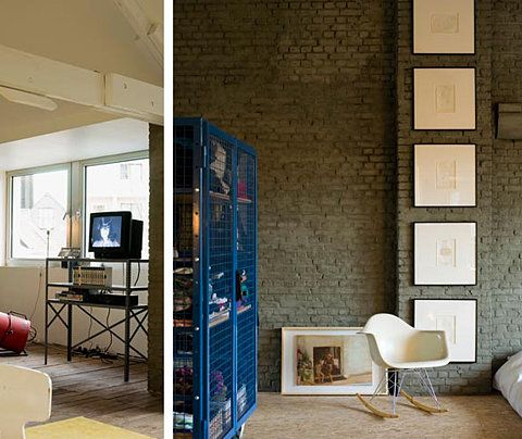Loft Tour: Temporary Attic Abode - LoftLife Magazine - The Loftstyle Guide to Life in the City