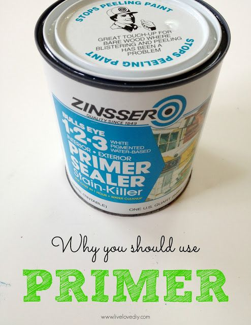 10 Paint Secrets: why you should use primer. Good to know!