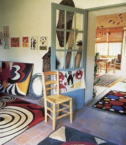 Calder at Home, 1960s