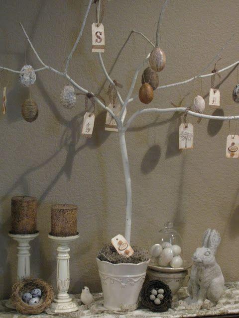 Fern Creek Cottage: Vintage Style Easter Tree